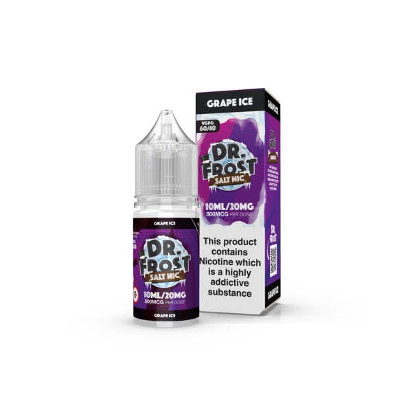 Dr. Frost - Nikotinsalz Grape Ice - 10ml