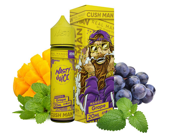 Nasty Juice - Cush Man - Aroma Grape - 20ml