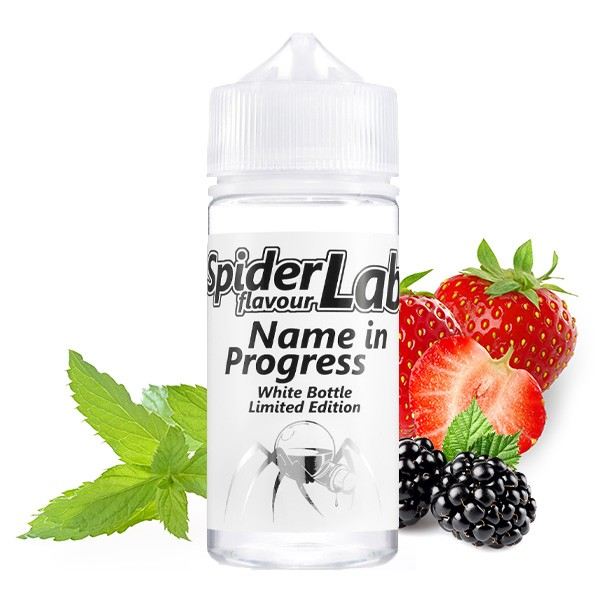 Spiderlab - White Bottle Limited Edition - Aroma Name in Progress - 10ml