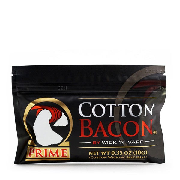 Cotton Bacon Prime Wickelwatte - 10 Gramm