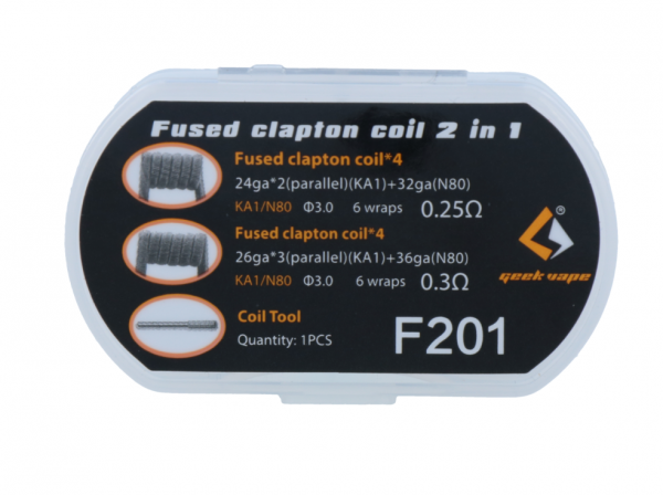 GeekVape - Fused Clapton Coil 2 in 1 Set