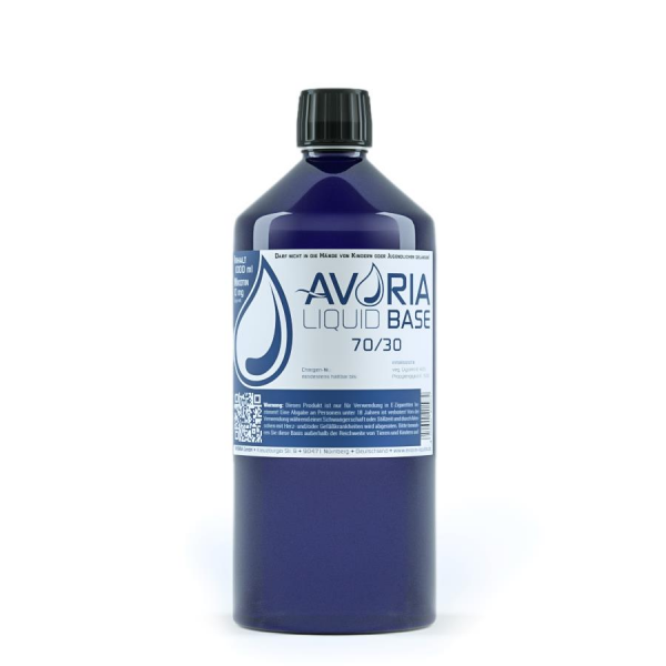 Avoria Basis Liquid 1000ml 0mg 70/30