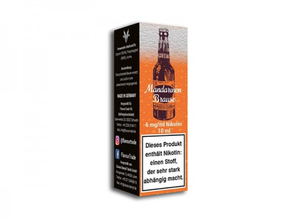 Flavour Trade - Liquid Mandarinen Brause - 10ml