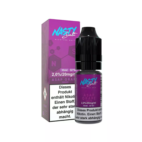 Nasty Juice - Nikotinsalz ASAP Grape - 10ml