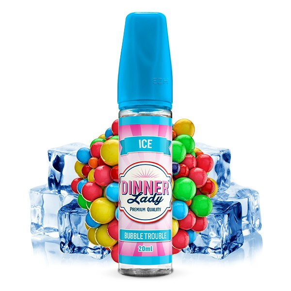 Dinner Lady Sweets ICE - Aroma Bubble Trouble - 20ml