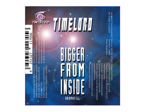 Twisted - Timelord - Bigger from Inside - 50ml