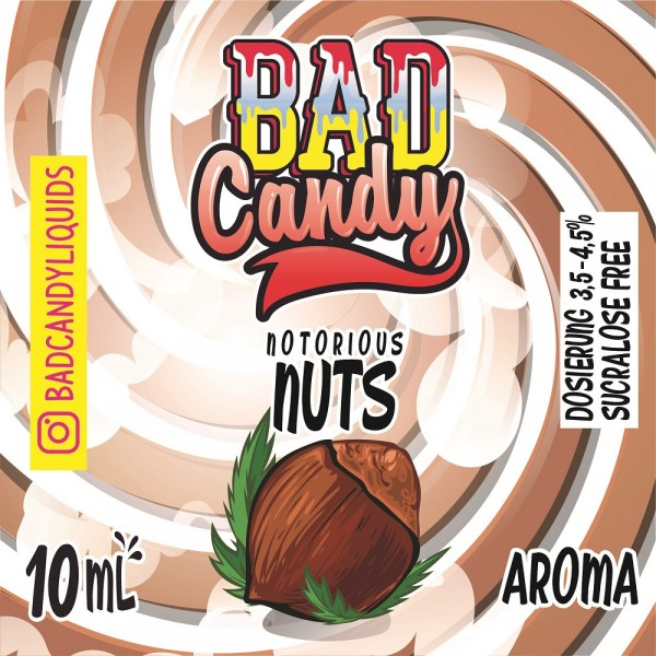 Bad Candy - Aroma Notorious Nuts - 10ml