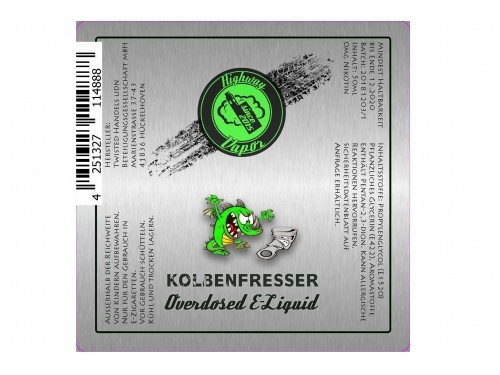 Twisted - Highway Vapor - Kolbenfresser - 50ml