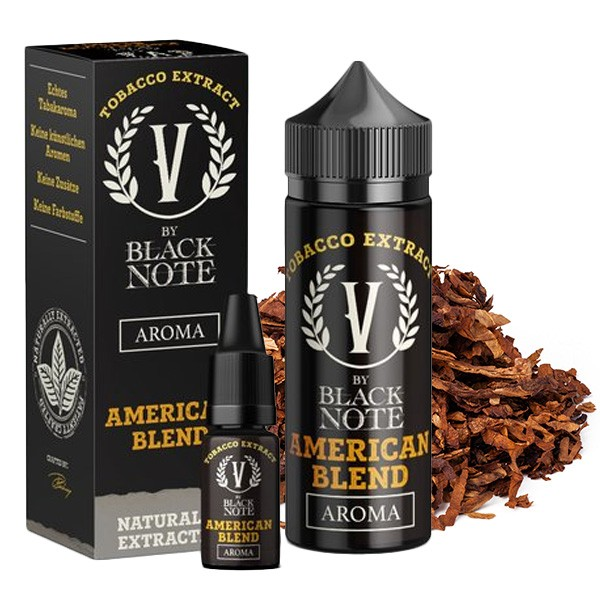 V by Black Note - Aroma American Blend - 10ml