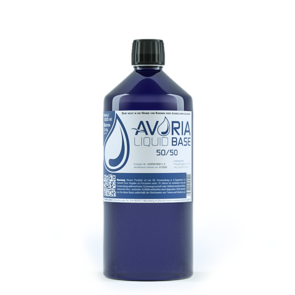 Avoria Basis Liquid 1000ml 0mg 50/50